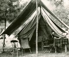 Civil War Quilts: Inside Willoughby Babcock's Tent