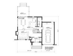 D tail du plan de maison unifamiliale w3718 prefab house - Maison freshwater brewster hjorth architects ...
