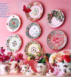 fabric plates