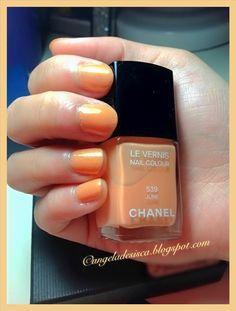 #chanel #june #orange #nailpolish #summer2012