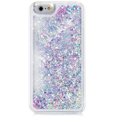 IPhone 6 Case Mosunx Flowing Liquid Floating Glitter Sparkle Case Cover for iPhone 6 (iPhone 6 Plus 5.5inch, Multicolor)