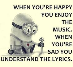 Top 20 Humor Minions Jokes Collection That's very very true! Funny Minion Pictures, Funny Minion Memes, Minions Quotes, Funny Jokes, Minion Humor, Funny Photos, Funny Images, Hilarious, True Quotes