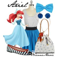 """Ariel"" by niennamarie on Polyvore"