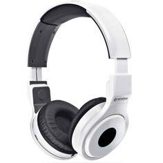 Fone de Ouvido Headphone Mondial Dobravél Branco HP-02