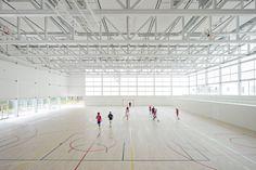Img.4 Alberto Campo Baeza, Multi-sport pavilion and classroom complex, Pozuelo de Alarcón, Spain, 2017