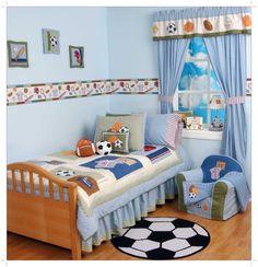 Amusing Boys Sports Room Ideas Bedroom