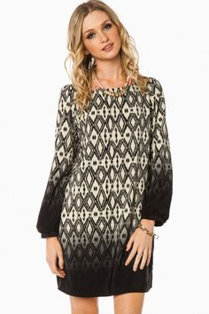 Fading Into You Shift Dress