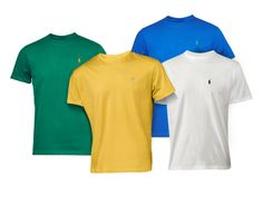 Ralph Lauren Polo T-Shirts - 7 Colors for $12.99