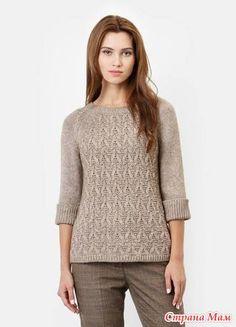 Здравствуйте странамамочки Бум появился в последнее время - вязать у всех подряд свитеров ажурные спинки. Как Вам такие веяния моды?
