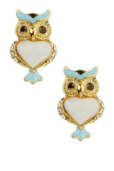Soho Hearts  Cutest Owl Earrings