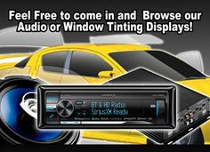 In Colorado Springs, when you need car window tinting or car audio installation turn to Auto Fusion 2000, the trusted name in tint and car audio.