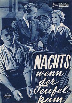 Poster zum Film: Nachts wenn der Teufel kam. 1957