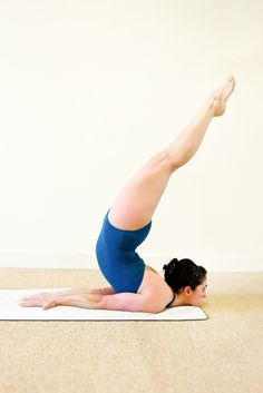 Locust Pose (VERY strong back)