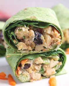 Vegan Pecan Apple Chickpea Salad Wraps with a creamy maple dijon tahini dressing. Vegan Pecan Apple Chickpea Salad Wraps with a creamy maple dijon tahini dressing. Takes 15 minutes Whole Food Recipes, Cooking Recipes, Healthy Recipes, Easy Recipes, Recipes Dinner, Diet Recipes, Cooking 101, Recipes For Wraps, Cooking Classes