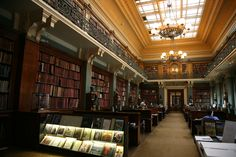 National Art Library at the Victoria and Albert Museum (London, England)