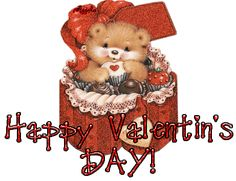 Valentines Day Funny Wallpaper With Quotes 2017 - Happy Valentine's Day 2017 Quotes,Ideas,Wallpaper,Images,Wishes Happy Valentines Day Gif, Valentines Day Bears, Valentine Wishes, Valentine Images, Valentines Day Greetings, Valentine Cards, I Love You Animation, Happy Love Day, Glitter Gif