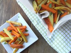 Need some keto fries? Try 15 healthy french fry alternative recipes lower in carbs than typical potato french fries. These low-carb (keto-friendly) alternatives to fries are great. Primal Recipes, Sugar Free Recipes, Veggie Recipes, Diabetic Recipes, Easy Recipes, Dinner Recipes, Roasted Carrots And Parsnips, Baked Carrots
