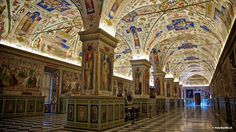 The Vatican Museum -This is the start of a mysterious and fascinating trip: a voyage across more than 20 centuries of creativity through which art and history intertwine, telling the story of what human ingenuity has created through the ages.