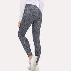 Medssii Cartoon Cute Panda Girl Yoga Pants Super Soft Yoga Leggings with Pockets