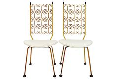 Metal   Chairs, Pair on OneKingsLane.com