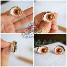 It's my first crocheted eye wi