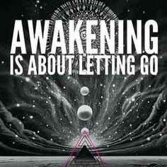 ..letting go....