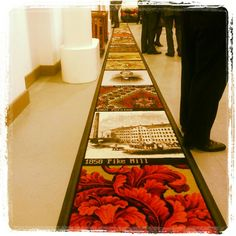 Timeline carpet. Timeline, Carpet, Museum, Blankets, Rug, Museums, Rugs