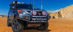 ARB bull bars and frontal protection provide substantially improved protection and a solid base for mounting other accessories like driving lights and winches. Ute Canopy, Best Hiking Gear, 4x4 Accessories, Bull Bar, Toyota 4x4, Mazda, Monster Trucks, Camping, Nice