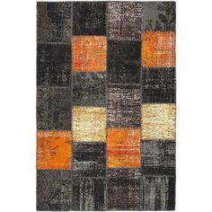 eCarpetGallery Ottoman Yama Patchwork Wool Handmade Rug