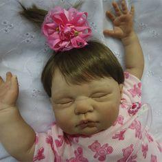 Bebê que Parece de Verdade - Bebê Reborn - RBNLRN Lorena