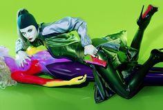 bang bang by miles aldridge Bang Bang, Fine Art Photography, Fashion Photography, Miles Aldridge, Saatchi Gallery, Fashion Wallpaper, Tim Walker, Happy Colors, Learn To Paint