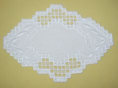 Hardanger Instructions | ABC Wednesday – H … and some stitching