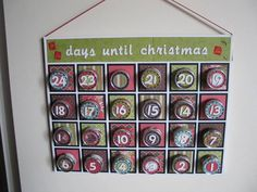 Advent Calendar by nbellish - Cards and Paper Crafts at Splitcoaststampers