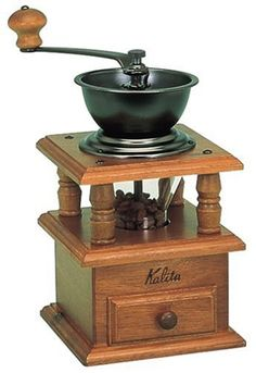 Kalita CT5 Coffee mill Hand Grinder by Kalita Carita ** Click on the affiliate link Amazon.com on image for additional details.