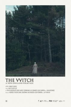 The Witch movie poster design by Andrew Sebastian Kwan Film Poster Design, Movie Poster Art, Minimal Movie Posters, Minimal Poster, Horror Movie Posters, Cinema Posters, Horror Films, Movie Prints, Poster Prints