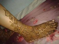 Mehndi art Design by Khushbu sukhandiya