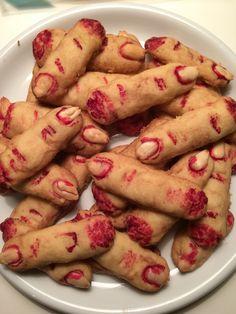 Fingerkakor till Halloween