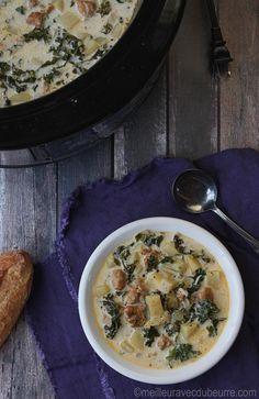 Soupe toscane à la mijoteuse