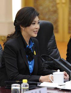 Yingluck Shinawatra Photos: Thailand's Prime Minister Yingluck Shinawatra Visits China