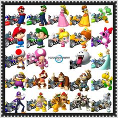 I will spend my entire life trying to unlock dry bowser. MARIO KART WII NIGHTMARES yeah every body feels that way