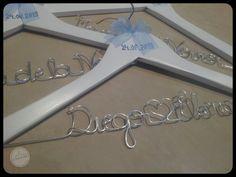 Perchas Personalizadas de Diego y Elena