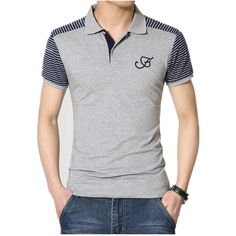 Find More Poles Information about Large Size … – Shirt Types Polo Vest, Polo T Shirts, Golf Shirts, Polo Shirt Design, Polo Design, Camisa Polo, Denim T Shirt, Mens Clothing Styles, Casual Shirts