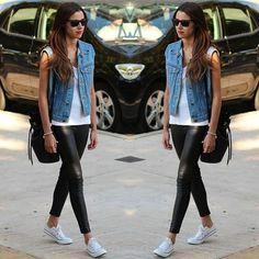 Meninas, o jeans está com tudo! Não estou falando só da calça jeans, nossa querida companheira, mas também de várias peças jeans que estão super forte nas tendências de Verão!Separei as TOP 6 tendências para você conferir e investir para o seu guarda-roupa! TOP 1 – CALÇA RELAXED A calça relaxed lembra a calça boyfriend, …