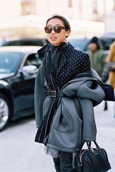 New York Fashion Week streetstyle Street Style Edgy, Street Chic, Street Wear, Paris Street, Feminine Tomboy, New Yorker Mode, Vanessa Jackman, Elegant Outfit, Mode Style