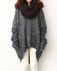 oversized sweater  $17.93  mori kei dark mori kei grunge nu goth goth fachin sweater top under20 under30 rosegal free shipping