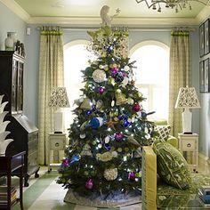 Nautical Cottage Christmas Tree