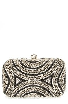 Natasha Couture Chain & Crystal Minaudiere available at #Nordstrom