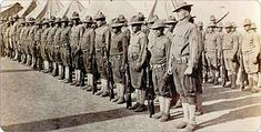 Choctaw Indian Code Talkers of World War I. Company E at Camp Bowie, Texas