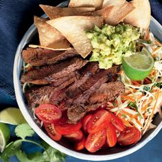 Smoky beef and slaw nachos bowl Healthy Pasta Bake, Broccoli Pasta Bake, Healthy Pastas, Healthy Baking, Healthy Recipes, Gluten Free Pasta, Latest Recipe, Dried Tomatoes, How To Cook Pasta
