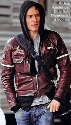 Michael Fassbender, among the most attractive celebs of Hollywood wears Blauer